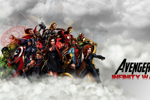 Avengers Infinity War 2018 Artwork 4k