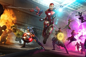 Avengers Infinity War 2018 Artwork Wallpaper