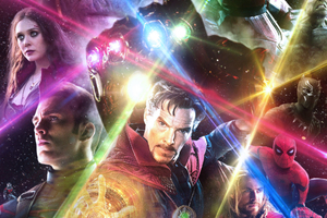 Avengers Infinity War 2018 Fan Artwork