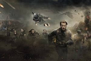 Avengers Infinity War 2018 Poster