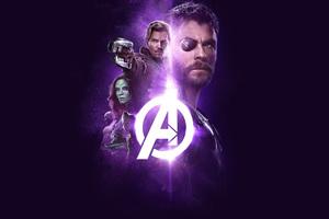 Avengers Infinity War 2018 Power Stone Poster 4k Wallpaper