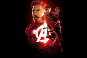 Avengers Infinity War 2018 Reality Stone Poster 4k