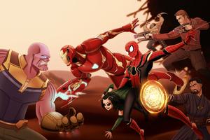 Avengers Infinity War 2020 Wallpaper