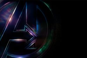 Avengers Infinity War 4k Logo Poster
