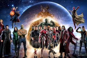 Avengers Infinity War 4k Poster