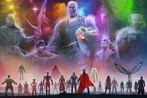 Avengers Infinity War 5k Wallpaper