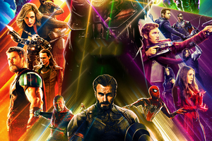 Avengers Infinity War Artwork 2018 HD