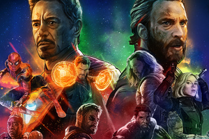 Avengers Infinity War Artwork New