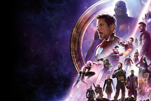 Avengers Infinity War Banner 4k Wallpaper