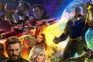 Avengers Infinity War Characters