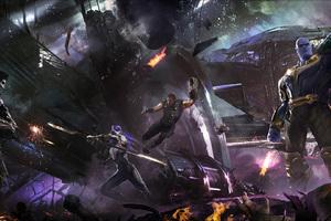 Avengers Infinity War Concept Art