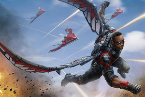 Avengers Infinity War Falcon 4k