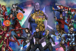 Avengers Infinity War Fan Art