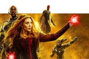 Avengers Infinity War Mind Stone Poster Wallpaper