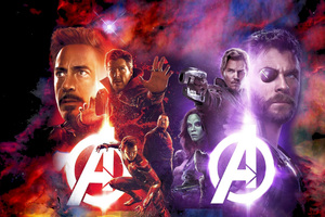Avengers Infinity War Movie Wallpaper