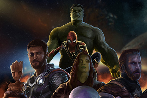 Avengers Infinity War New Artwork Wallpaper