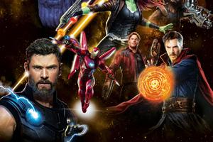 Avengers Infinity War New Poster HD 2018 Wallpaper