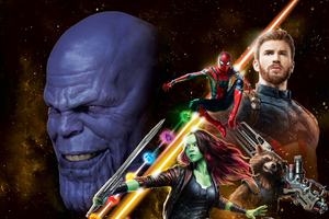 Avengers Infinity War New Poster HD
