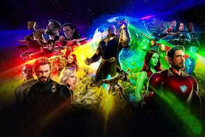 Avengers Infinity War New Poster