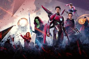 Avengers Infinity War Poster 2018