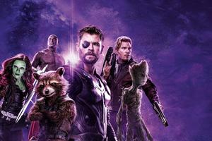 Avengers Infinity War Power Stone Poster 8k