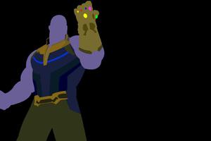 Avengers Infinity War Thanos Gauntlet Minimalism