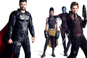 Avengers Infinity War Thor Star Lord Nebula