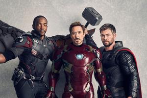 Avengers Infinity War Vanity Fair Cover 2018 5k Wallpaper