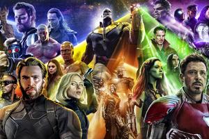 Avengers Infinty War 2018 Poster