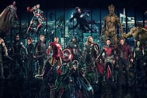 Avengers Infinty War 2018 Superheroes Wallpaper