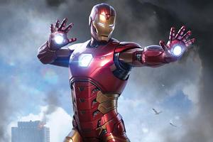 Avengers Iron Man 4k