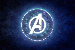 Avengers Logo 4k Wallpaper