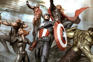 Avengers Marvel Comics Artwork Wallpaper