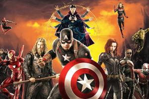 Avengers Poster 4k Wallpaper