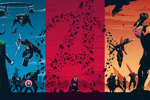 Avengers Trilogy Wallpaper