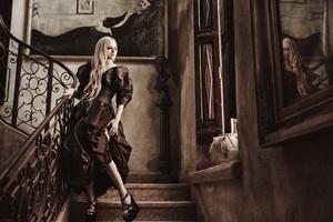 Avril Lavigne Glamour Photoshoot