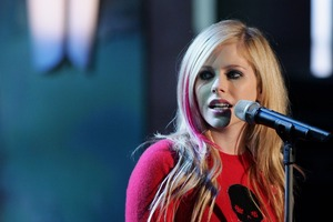 Avril Lavinge On Stage