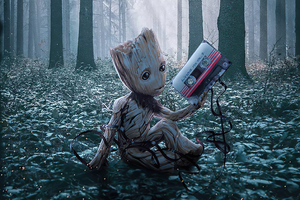 Baby Groot 2020 Wallpaper