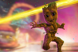 Baby Groot 4k 2019 Wallpaper