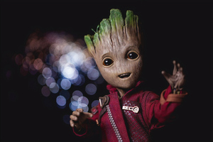 Baby Groot 5k 2019 Wallpaper