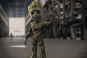 Baby Groot 8k Wallpaper
