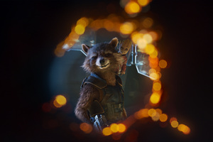 Baby Groot And Rocket 4k Guardians Of Galaxy 2 Wallpaper