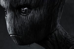 Baby Groot Avengers Endgame 2019 Poster Wallpaper