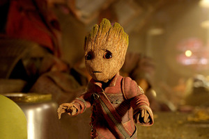 Baby Groot Guardians Of The Galaxy Vol 2