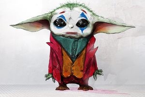Baby Joker X Yoda Wallpaper