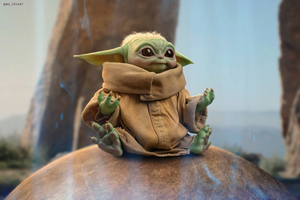 Baby Yoda 3d Art 4k Wallpaper