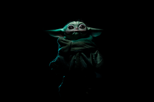 Baby Yoda 4k Wallpaper