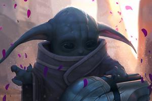 Baby Yoda4k 2020