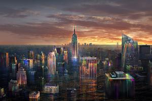 Babylon New York Wallpaper