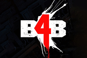 Back 4 Blood Logo 4k Wallpaper